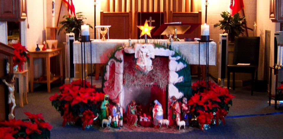 Christmas Church Decorations  Dec 2011 Photos  St Paul